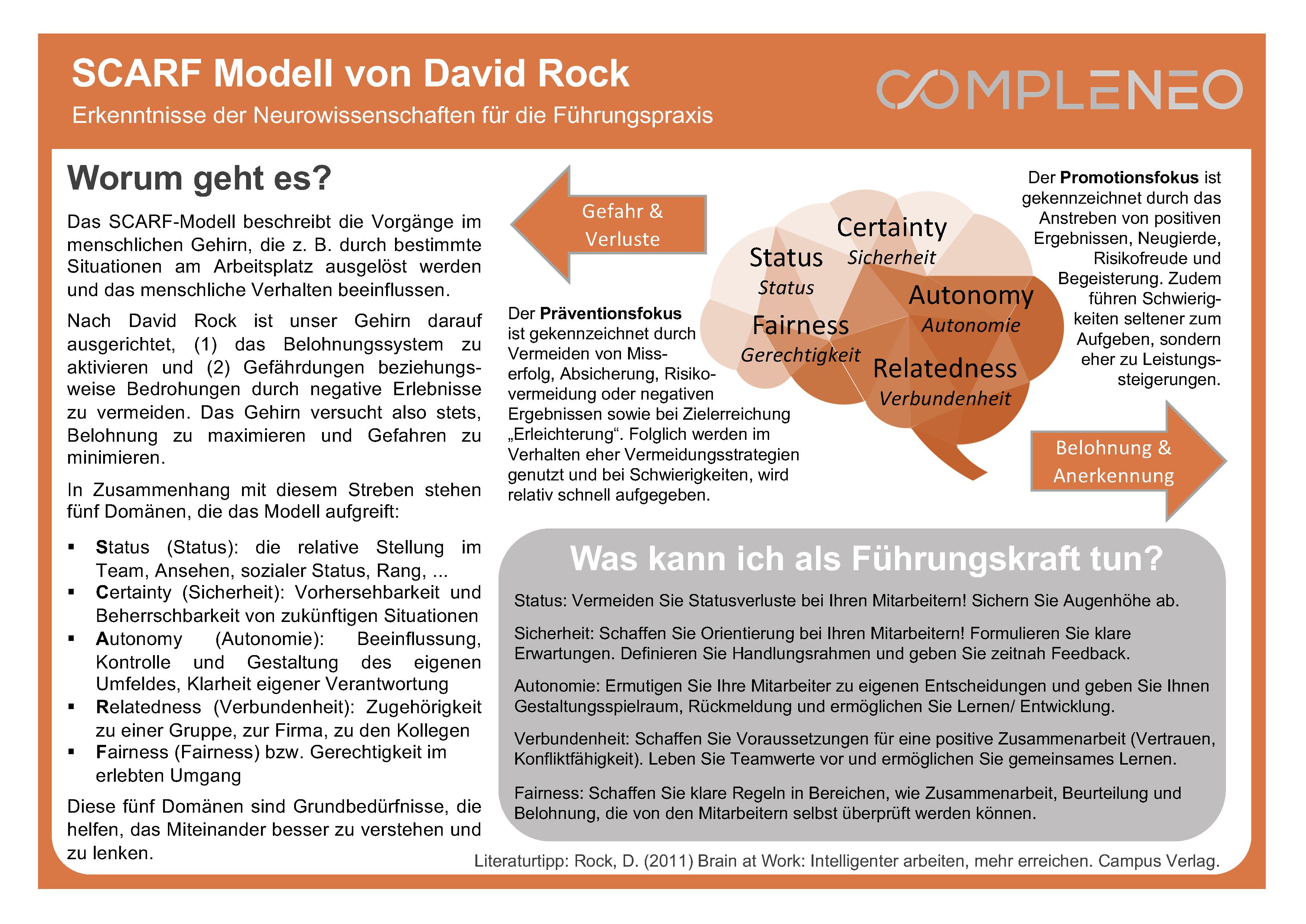 Scarf Modell von David Rock